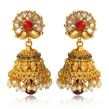 Branded Gold Plated Artificial Earrings_Er30008g