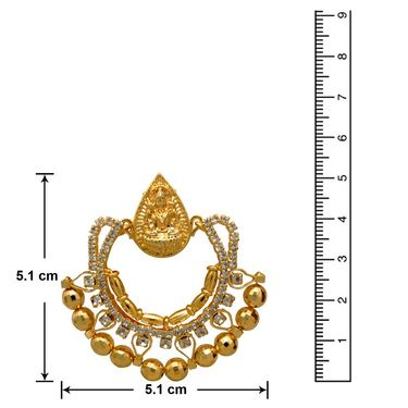 Branded Gold Plated Artificial Earrings_Er30030g