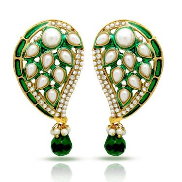 Branded Gold Plated Artificial Earrings_Er30036ggre