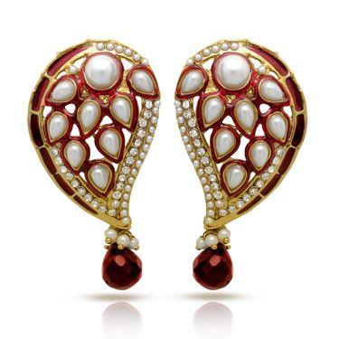 Branded Gold Plated Artificial Earrings_Er30036gred