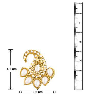 Branded Gold Plated Artificial Earrings_Er30052g