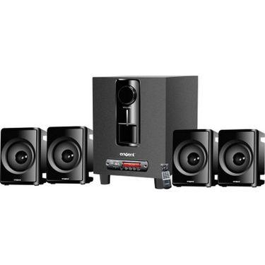 Envent MUSIQUE 4.1 Multimedia Wired Home Audio Speaker - Black