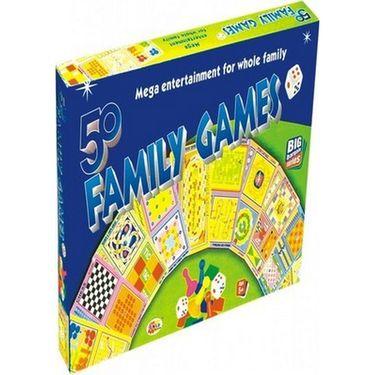 Ekta 50 in 1 Family Games Board Game