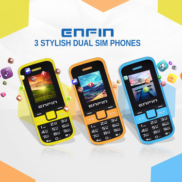 Enfin 3 Stylish Dual SIM Phones
