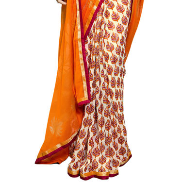 Exquisite Set of 7 Premium Georgette Sarees (7G16)