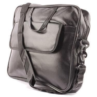 Fidato Laptop Bag + Fidato Golden Aviator + Fidato Black Leather Wallet