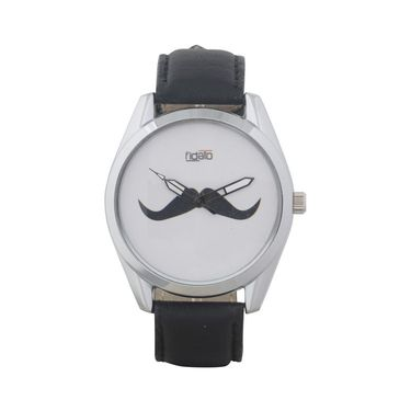 Fidato Round Dial Analog Watch_fdmw38 - White
