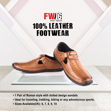 FW16 100% Leather Footwear