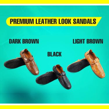 FW16 Men's Leatherite Sandals - Pick Any 1 (LS1R)