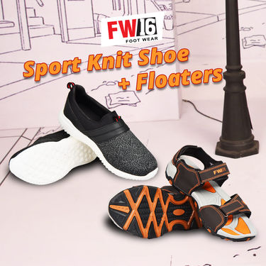 FW16 Sports Knit Shoes + Floaters (SSFK4)