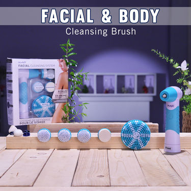Facial & Body Cleansing Brush