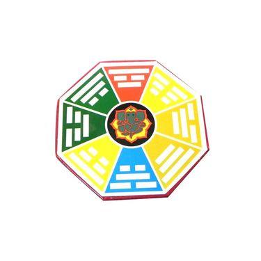 Fengshui Ganesha Ba Gua For Correction In Vastu Dosh - Multicolour