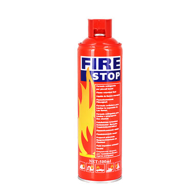 Fire Stop 500ml Foam Base Portable Fire Extinguisher