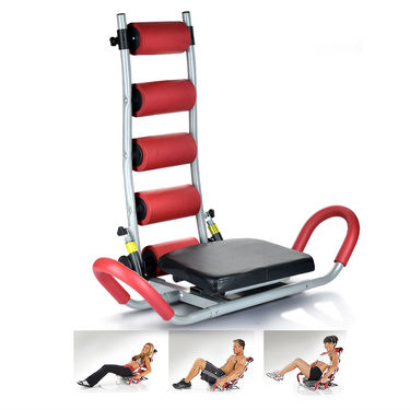 Fitness Twister (Black & Red)