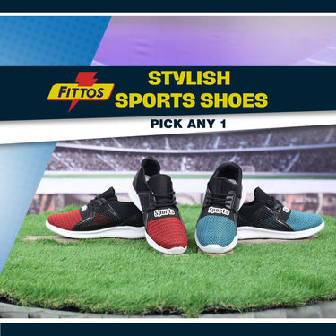 Fittos Stylish Sports Shoes (FS1) - Pick Any 1