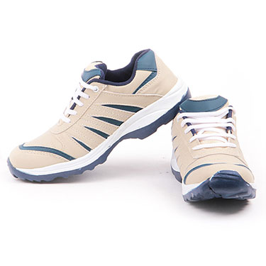 Foot n Style Synthetic Leather FS456 -Mesh Sports Shoes