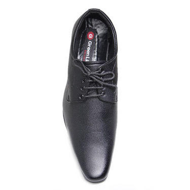 Foot n Style Refined Derby Shoes - Black