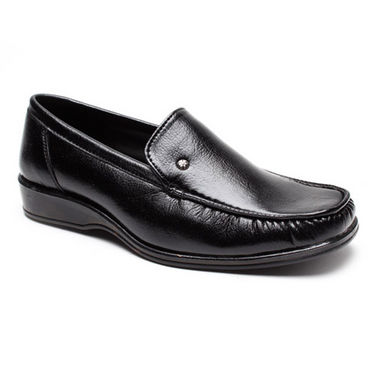 Foot n Style Smart Slip on Shoes - Black-4938