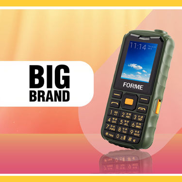 Forme 4 in 1 - Mobile + Speaker + Torch + Big Battery