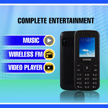 Forme Dual SIM Entertainment Phone (N1)