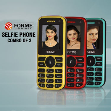 Forme Selfie Phone Combo of 3