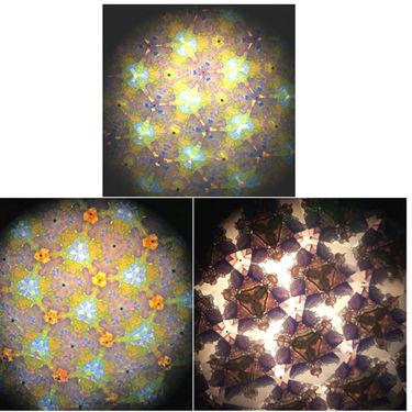Adraxx Fun Colourful Kaleidoscope - Multicolor