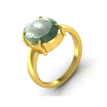 Kiara Jewellery Certified Panna 3.0 cts & 3.25 Ratti Green Emerald Ring_Gery