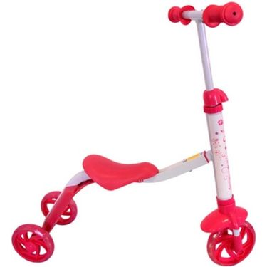 Kids 2in1 Riding cum Skate Scooter - Pink