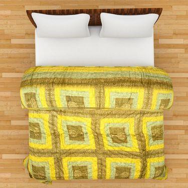 GRJ India Designer Printed Single AC Bed Quilt-GRJ-SQ-155