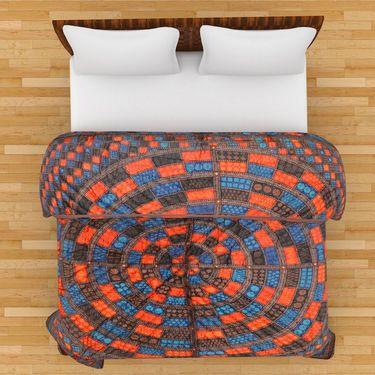 GRJ India Designer Printed Single AC Bed Quilt-GRJ-SQ-161