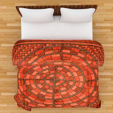 GRJ India Designer Printed Single AC Bed Quilt-GRJ-SQ-163