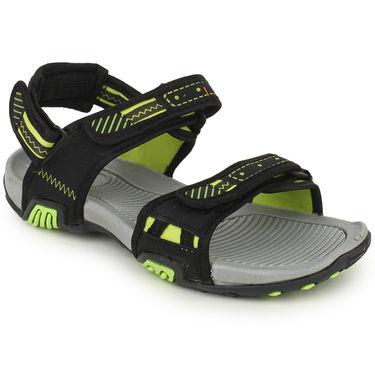 Branded Black Sandals -Gbs08