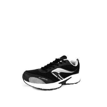 Globalite Synthetic Sports Shoes GSC0199 -Black Grey