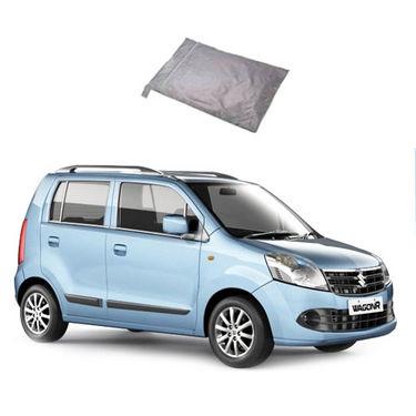 Galaxy Car Body Cover Maruti Wagon R - Silver