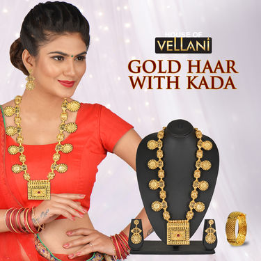 Gold Haar with Kada