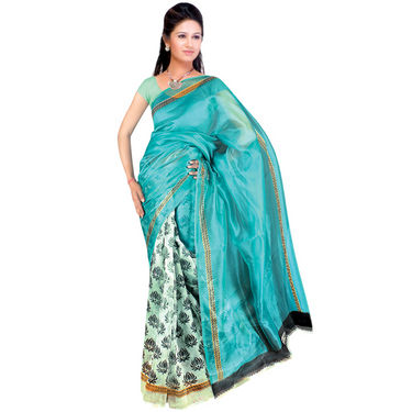 Good Karma Set of 7 Stylish Art Silk Sarees (GK, 7A2)