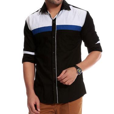 Pack of 3 Good Karma Cotton Premium Designer Shirts_Gkc009 - Mulitcolor
