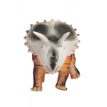 Triceratops Dinosaur With Real Sound Big Size - Multicolor