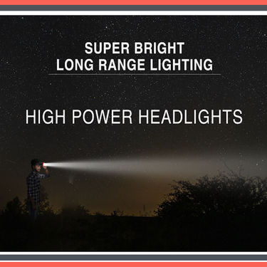 Ultra Bright Head Torch Rechargeable LED Light