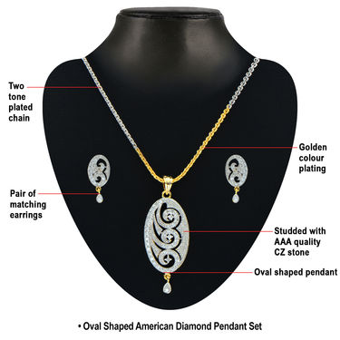Heeron Ki Saugaat American Diamond Collection by Sterling