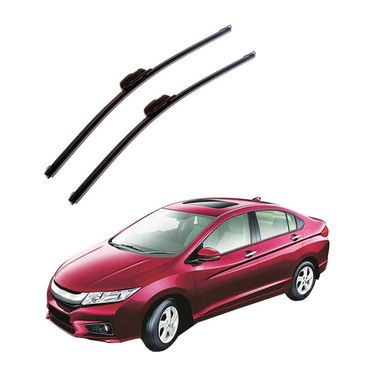 Autofurnish Frameless Wiper Blades for Honda City New (D)22