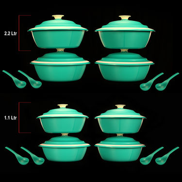 32 Pcs Microwave Safe Serve & Store Set