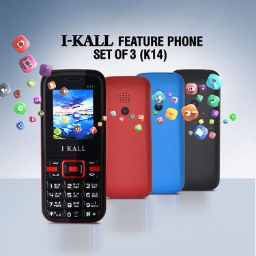 I Kall Feature Phone Set of 3 (K14)