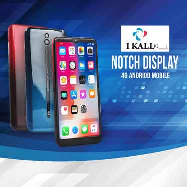 I Kall Notch Display 4G Android Mobile (K3)