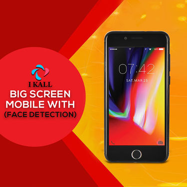 I Kall 4G Big Screen Mobile with Face Detection