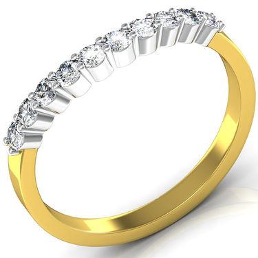 Avsar Real Gold & Swarovski Stone Deepika Ring_I059yb