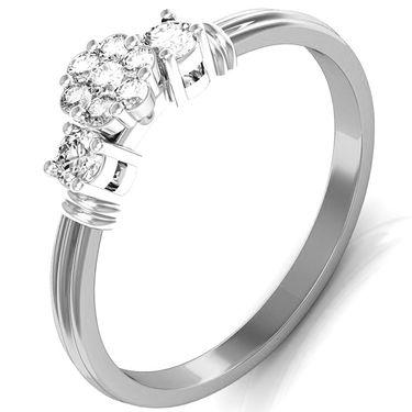 Avsar Real Gold & Swarovski Stone Kirti Ring_I083wb
