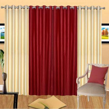 IWS Set of 4 Beautiful Door Curtain IWS-CT-1025