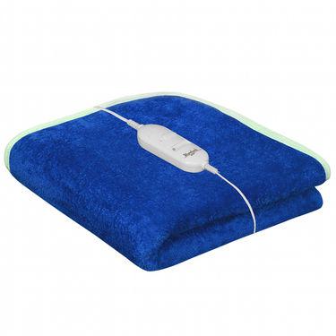 Set of 2 Warmland Electric Single Bed AC Blanket-Blue & Wine-IWS-EB-05_06