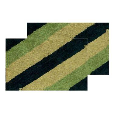 10 Piece Home Decor Combo (IWS 2 Bedsheet with 4 Pillow Covers + 2 Door Curtains + 2 Mats) -IWS-JC-18